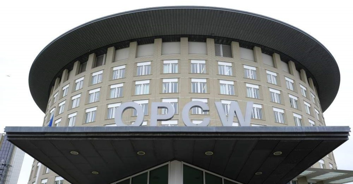 This May 5, 2017 file photo shows the headquarters of the Organisation for the Prohibition of Chemical Weapons (OPCW), The Hague, Netherlands. (AP Photo)