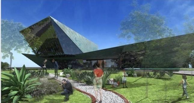 مخطط للمتحف المومع بناؤه الأناضول
