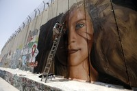 Italian graffiti artists in West Bank arrested by Israeli border police