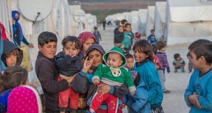 مخيم سوروج للاجئين جنوبي تركيا يخدم 17 ألف كردي من سوريا