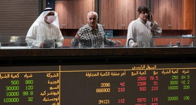 بورصات الخليج تتراجع على وقع انتشار فيروس كورونا المستجد