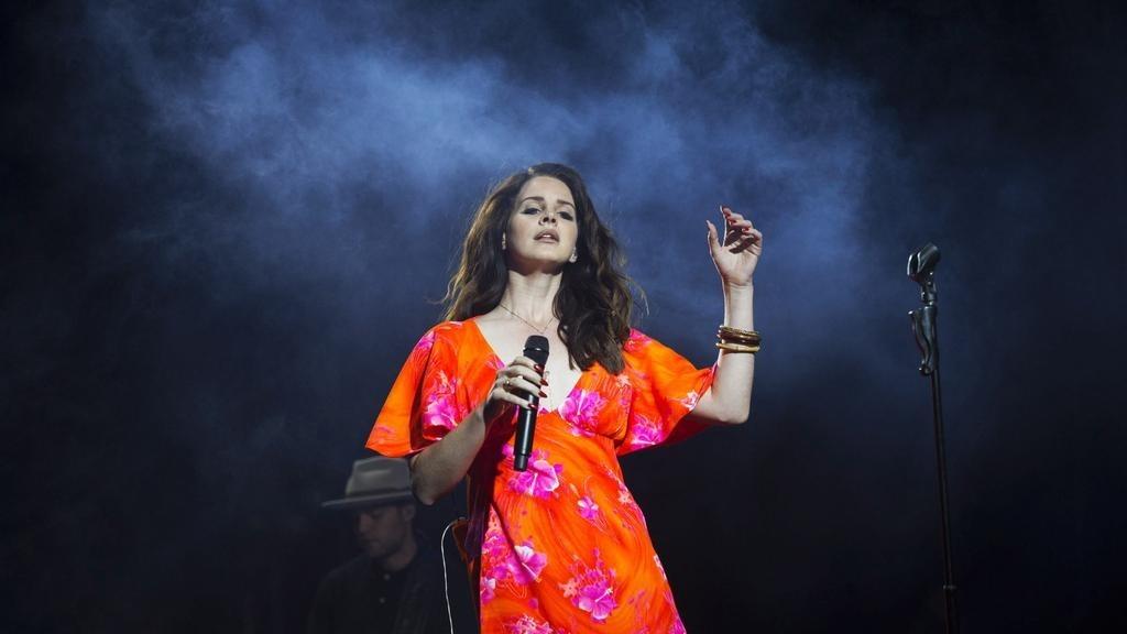 Lana Del Rey performing at Coachella. (Reuters Photo)