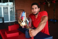 Turkish arm wrestling athlete wins 25 medals in 7 years