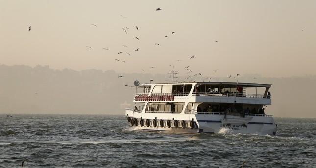 تركيا.. إلغاء الرحلات البحرية في إزمير لسوء الأحوال الجوية
