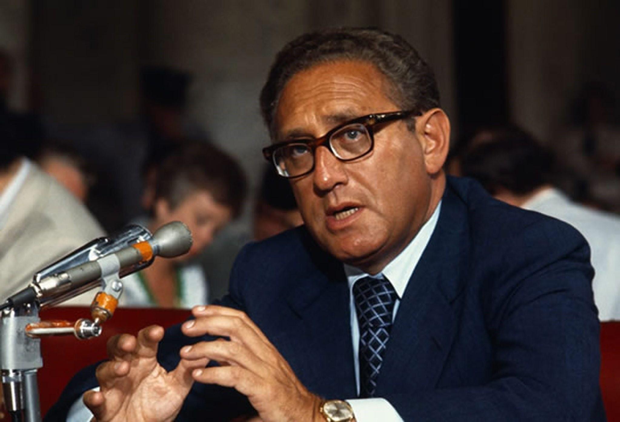 Late U.S. Secretary of State Henry Kissinger
