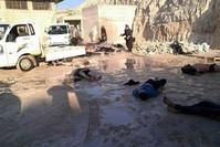 من ضحايا هجوم بالسلاح الكيميائي على خان شيخون (من الأرشيف)