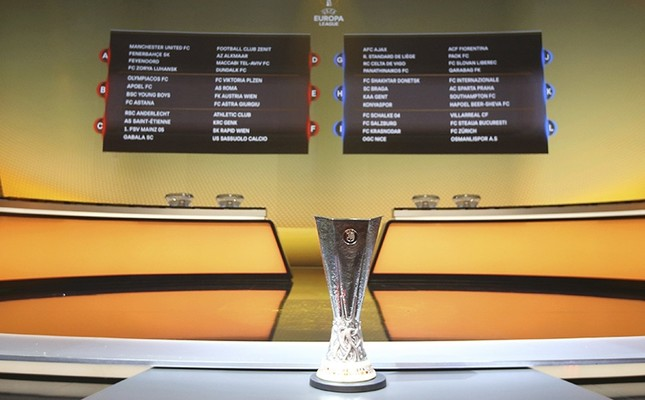 A general view shows the draw for the 2016/2017 UEFA Europa League soccer competition at Monaco's Grimaldi Forum in Monaco, August 26, 2016. (Reuters Photo)