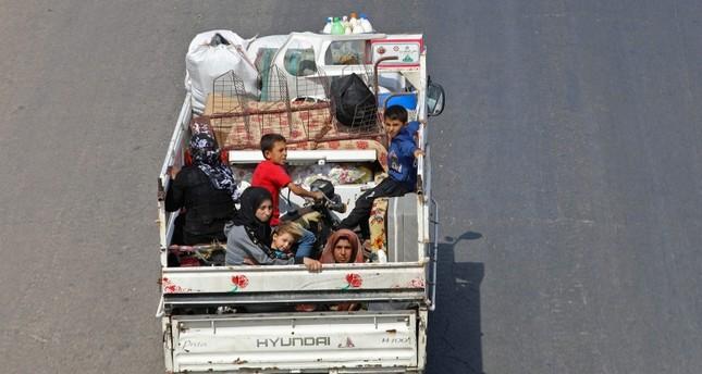 أكثر من ثلاثين ألف شخص نزحوا من إدلب منذ مطلع الشهر الحالي