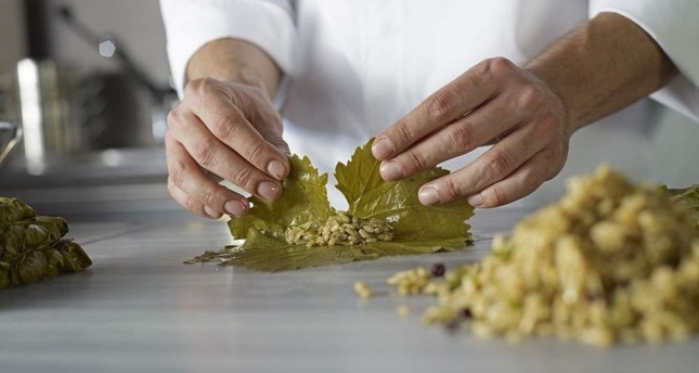 The art of sarma is in the rolling of the vine leaves. iStock Photo