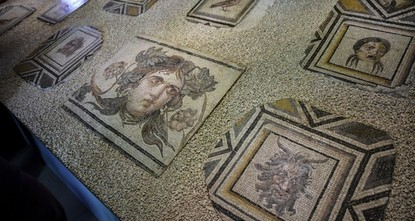 Antike Mosaikteile wieder in alter Heimat zu sehen