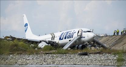Russland: Ein Toter nach Flugzeugunglück in Sotschi