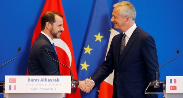 تركيا وفرنسا تتفقان على مواصلة التحرك المشترك ضد الرسوم الجمركية الأمريكية