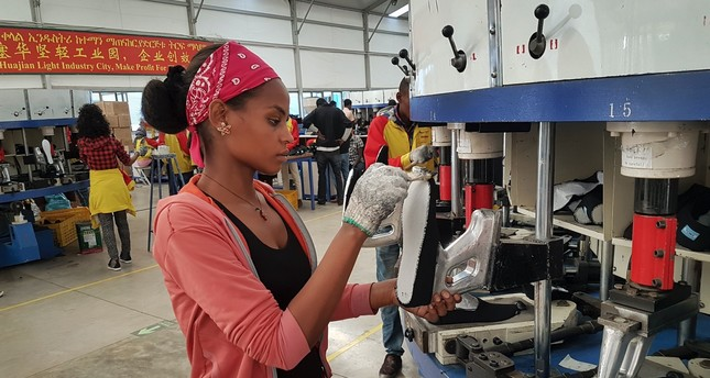 Workers from at Ganzhou Huajian International Shoe City Co., a southeastern China factory used by Ivanka Trump and other fashion brands, say they've faced long hours, low pay and verbal abuse. Huajian, meanwhile, has been moving production to Ethiopi