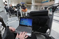 Talks on a proposed U.S. ban on laptops and tablets in flights from Europe ended Wednesday with no ban — and a promise of more talks and better intelligence sharing.  For days now, European...