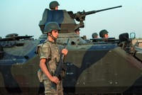 More troops arrive at Turkish military base in Qatar