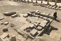 2,000-year-old olive oil mill uncovered in Turkey's Aegean region