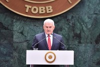 Following President Recep Tayyip Erdoğan's return as chairman of the ruling Justice and Development Party (AK Party), Prime Minister Yıldırım has been unanimously voted as parliamentary group...
