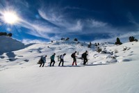 Snow-covered Giden Gelmez Mountains call on adventurers