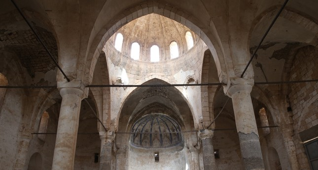 Historic church in Turkey's Şanlıurfa undergoing restoration