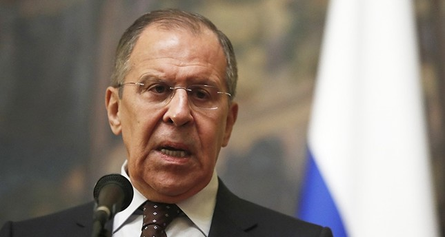 Russian Foreign Minister Sergei Lavrov makes a statement on development of British investigation into possible poisoning of former Russian spy Sergei Skripal, in Moscow, Russia (EPA Photo)
