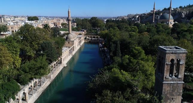 Şanlıurfa in autumn: Discover the Pool of Sacred Fish