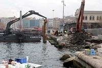 Unexploded artillery shells found on seabed in Istanbul transport hub