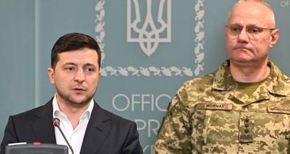 الانفصاليون الموالون لروسيا يشنون هجوماً عنيفاً على منطقة دونباس في شرق أوكرانيا