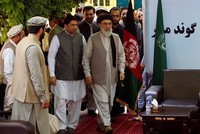 Hekmatyar urges peace in first public address in Afghanistan after decades in exile