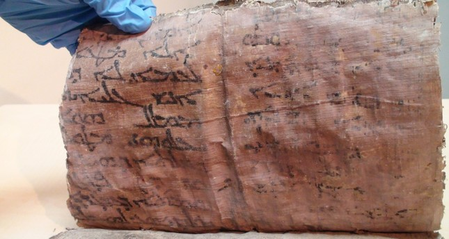 11th century Bible recovered in central Turkey