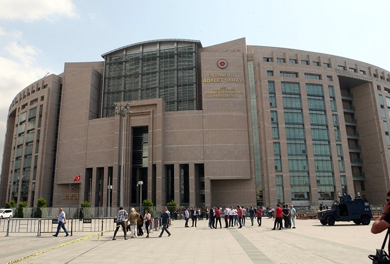 Main Istanbul Courthouse at u00c7au011flayan (Sabah File Photo)