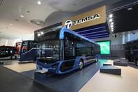 أول شحنة من حافلات تيمسا التركية تصل السويد قريباً
