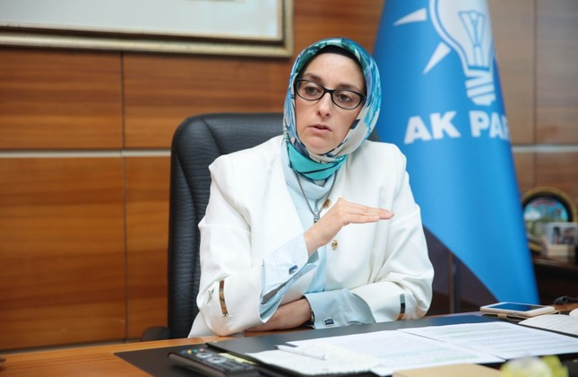 AK Party women's branch head Selva Çam: We want to increase women's participation in politics and business