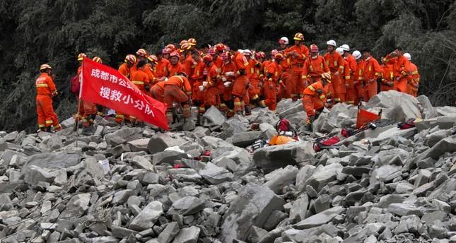 Hoffnung schwindet für Verschüttete in China