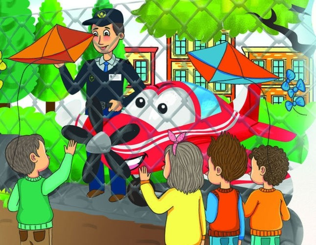 Book on Turkey's domestic aircraft aims to generate children's interest in aviation