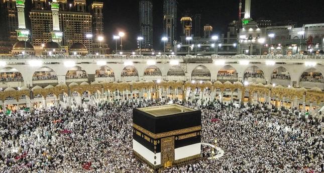 أكثر من مليون شخص وصلوا السعودية لأداء مناسك الحج