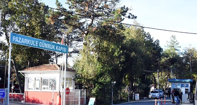 Pazarkule Customs Gate in Edirne province between Turkey and Greece (DHA File Photo)