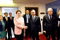 German minister asks Kurds to vote for IYI Party after meeting with Akşener