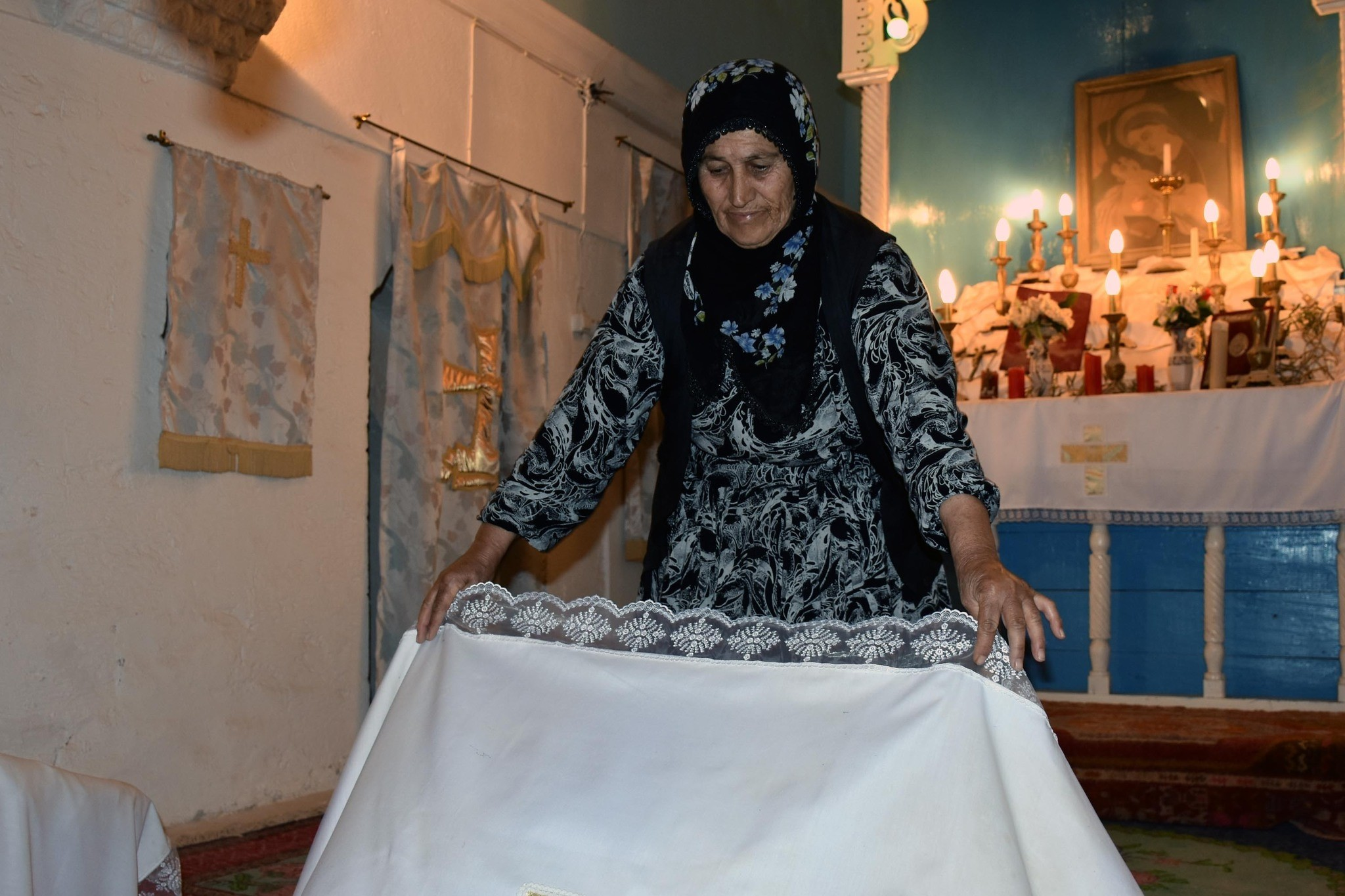 Every day, Hatun u00c7au00e7ur cleans up the church she u201cdidnu2019t want to be abandoned to its fate.u201d