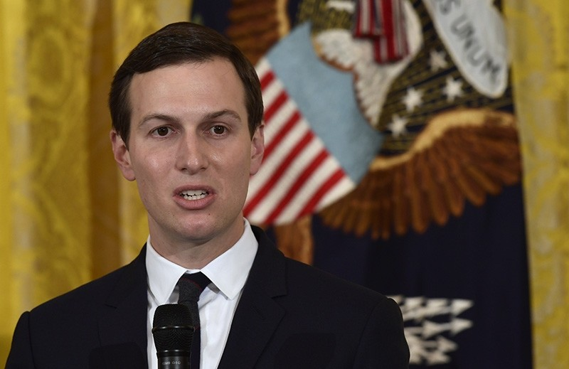 In this May 18, 2018, file photo, White House adviser Jared Kushner speaks in the East Room of the White House in Washington. (AP Photo)