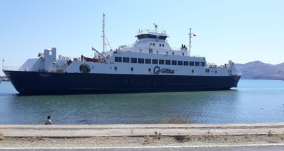 Passengers evacuated from stranded ferry in Aegean island of Gökçeada