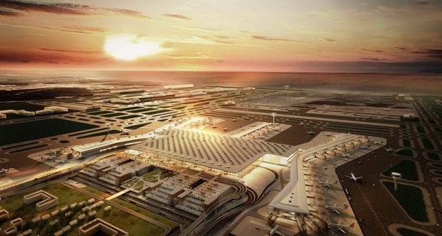 As the construction of the Istanbul New Airport continues in an accelerated manner, the terminal, which will accommodate 90 million passengers annually and three airfields, is planned to open in 2018.