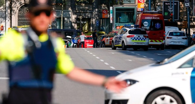 Driver in Barcelona attack among 5 killed in Cambrils
