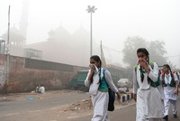 Delhi authorities ordered all schools to close Wednesday after choking smog descended on north India and Pakistan, with pollution levels in the city 40 times the World Health Organization's (WHO)...