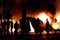 160 مصابا جراء الاشتباكات بين الأمن والمحتجين في بيروت