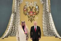 Saudi King Salman in historic Russia visit meets Putin