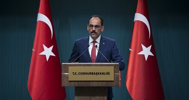 متحدث الرئاسة التركية يستنكر تلميحات أمريكية إلى صلة أنقرة بتنظيمات إرهابية بإدلب