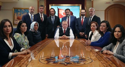 Turkey develops good relations in all regions: Erdoğan