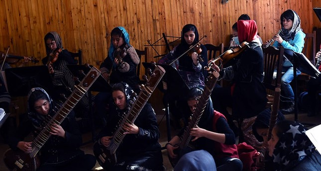 Afghanistan's first female orchestra to play at closing