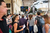 Forest fires east of Marseille have left thousands of travellers stranded across southern France, French rail officials and media reported Sunday.  According to a spokesman for the SNCF rail...