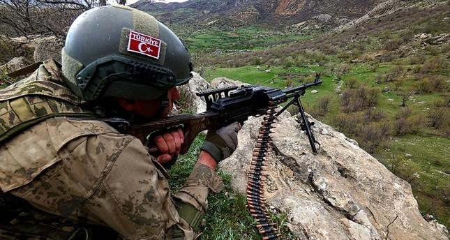 تحييد 40 إرهابياً من بي كا كا في عمليات أمنية جنوب شرقي تركيا